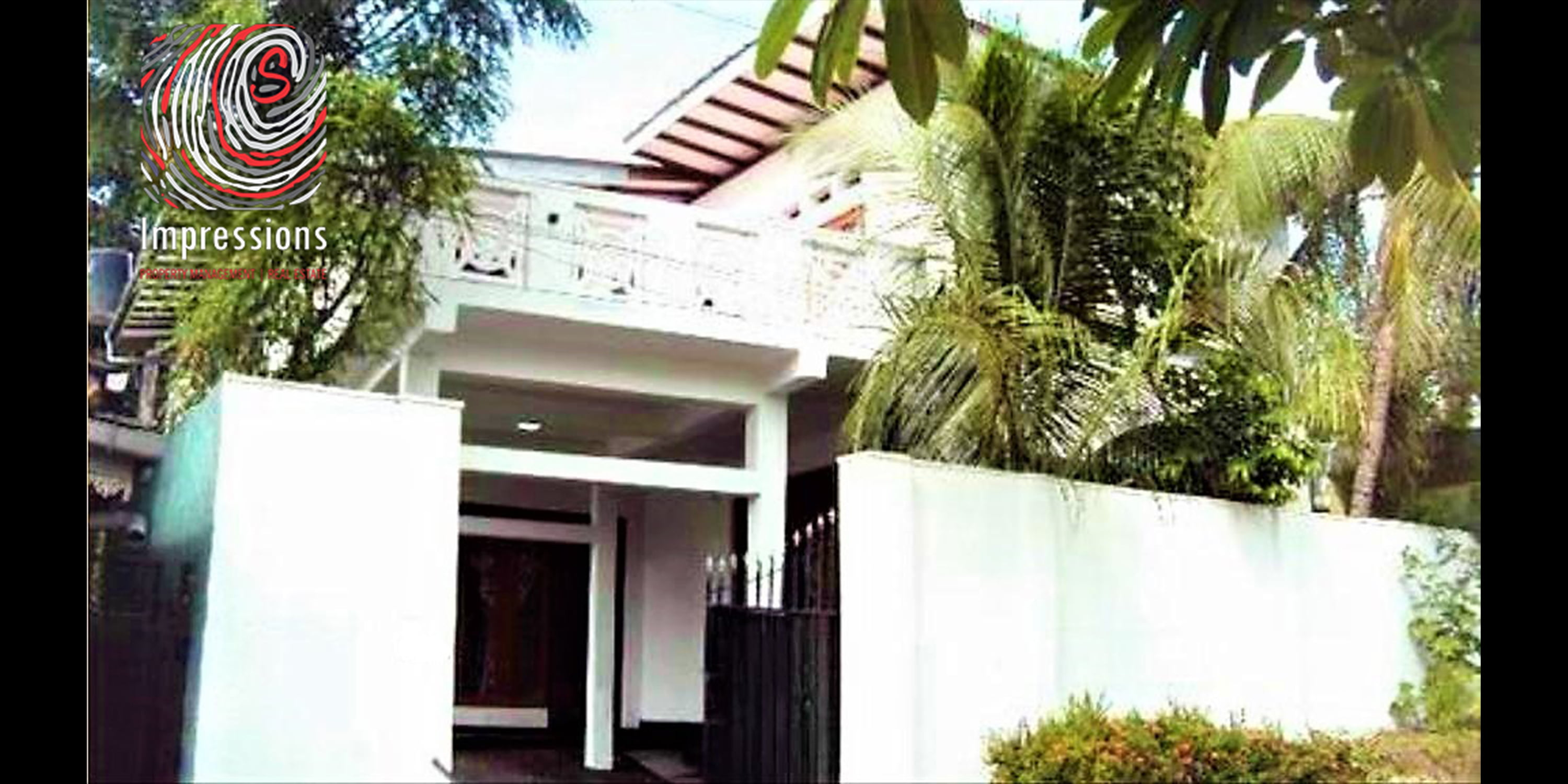 Dehiwala, 2-storey, 4-bedroom house with annexe for sale