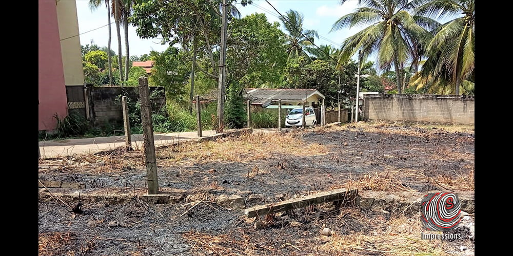 13.5 perches of bare land for SALE in Ja-Ela