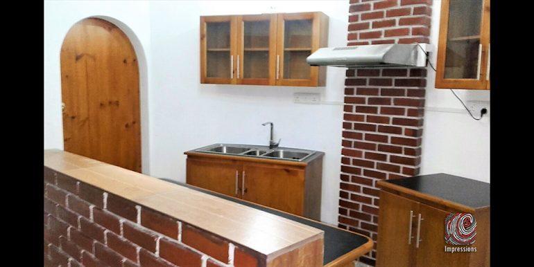 6. Kitchen & Pantry Area (14' x 7')
