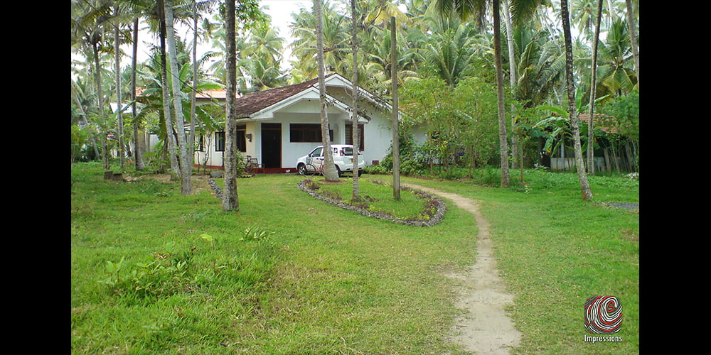 Prime land close to the beach with 2 houses for SALE in MATARA