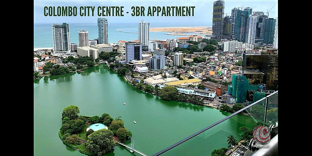 3 bed luxury apartment at Colombo City Centre for Rent