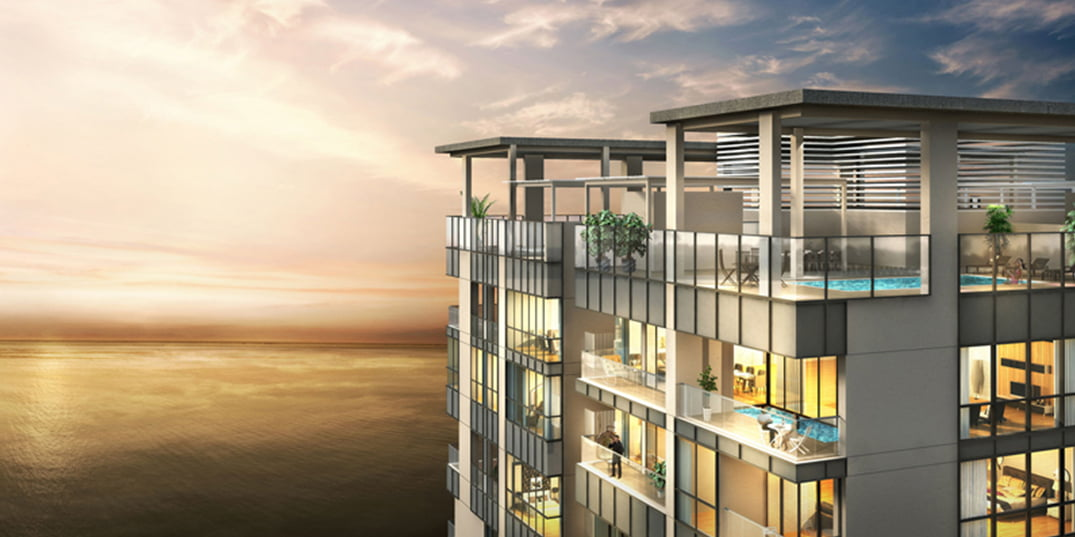4 bed Duplex Apartment at The Residencies, One Galle Face